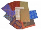 Pack of Indian Textile Design Cards a 1