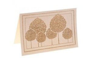 Pack of Gilt Tree Cards 1