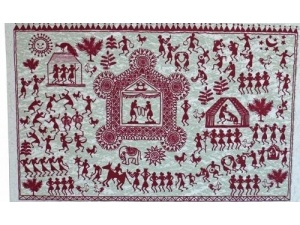 Pack of Warli Art Cards 1