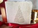 Handmade Paper Christmas Greetings Card 1